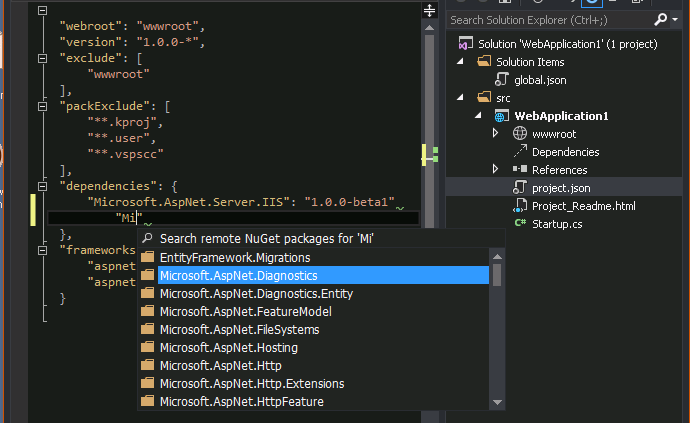 Dependency Management Through Nuget Package Manager