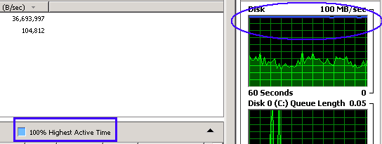 High Disk I/O in Windows VPS