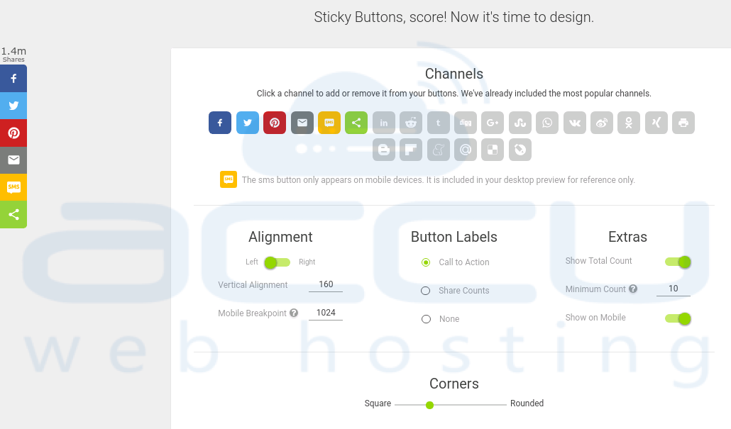 Top 10 Social Media Share Buttons and Widgets for Website - AccuWeb