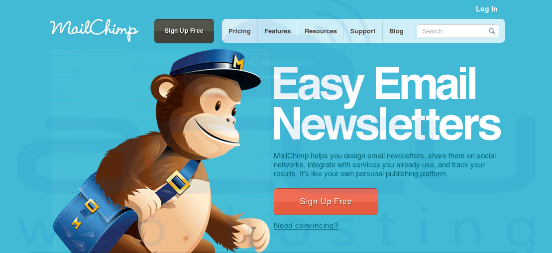 MailChimp for bulk Email Service