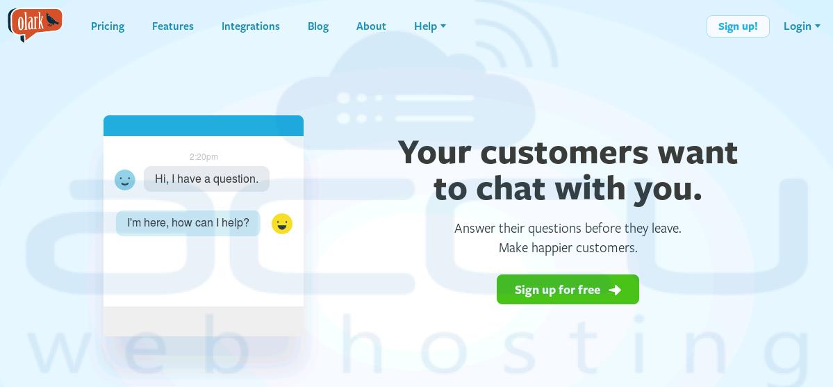 Nur Chat-Websites