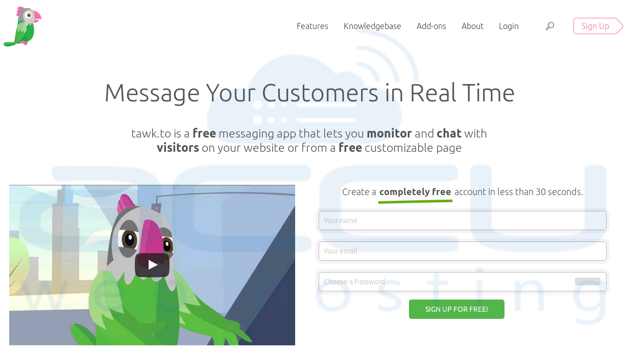 real time chat software live Free