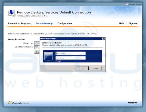 How to Connect Remote Desktop using a Web Based Interface