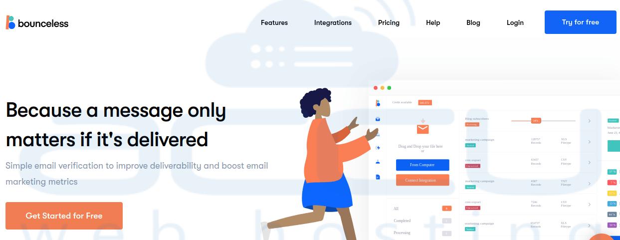 BounceLess.io - Email Verification Made Simple