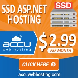 ASP.Net Hosting starts @ $3.18/Mo.