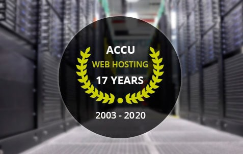 AccuWeb Hosting 14 Years in Business
