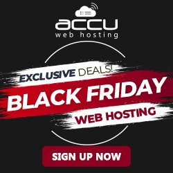 Black Friday Sale on Hosting Services