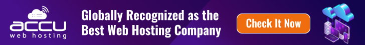 Globally recognized web hosting company