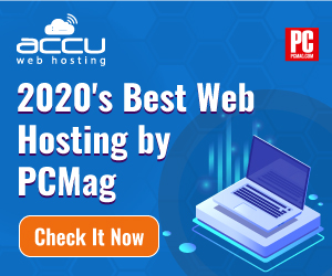 Awarded 2020's best web hosting company by PCMag