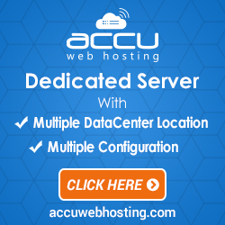 Dedicated Server starting at just $75/month