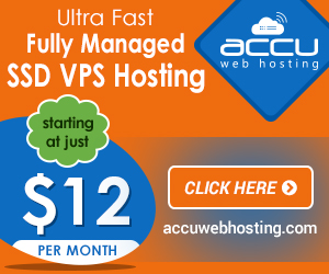Fully Managed VPS Hosting on SSD Servers starting at just $12/month - Explore the Power of Solid State Drives