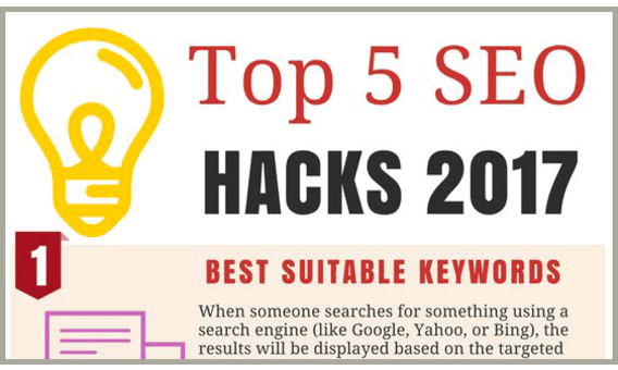 Top 5 SEO Hacks 2017